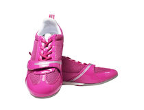 Chaussures sportives roses Image stock