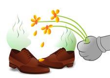 Chaussures Stinky illustration libre de droits