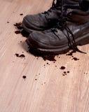 Chaussures sur l'étage Photos libres de droits