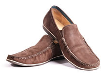 Chaussures sur un blanc Images stock