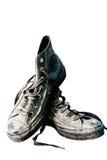 Chaussures sur un fond blanc Photos stock