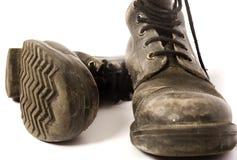 Chaussures usées Photos libres de droits