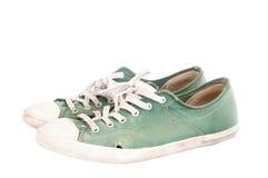 Chaussures utilisées Photographie stock libre de droits