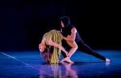 Chauvinisme masculin 5-Act 2 : Pays des merveilles relation-moderne de danse de triangle photo stock