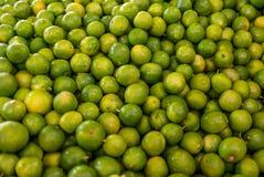 Chaux à un marché au Mexique image stock
