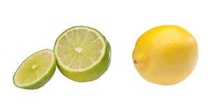 Chaux et citron Photo stock