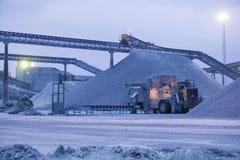 Chaux quarry.JH Photos libres de droits