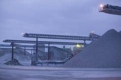 Chaux quarry.JH Images stock