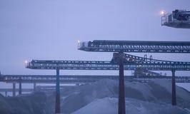 Chaux quarry.JH Photographie stock libre de droits