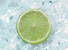 Chaux sur la glace Photos libres de droits