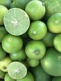 chaux verte thaïlandaise fraîche Photographie stock