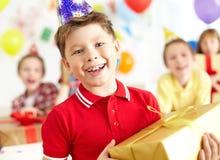 Chaval feliz Imagen de archivo libre de regalías