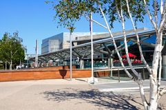 Chavasse Park Shopping Centre, Liverpool. Stock Photography