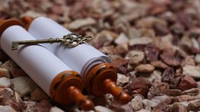 A chave é o torah Foto de Stock