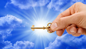 A chave Fotografia de Stock Royalty Free