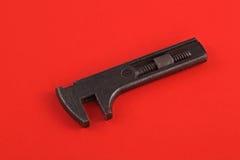 Chave ajustável ou chave inglesa velha foto de stock