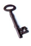 Chave antiga da prisão do Victorian Fotos de Stock