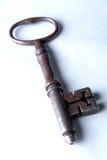 Chave antiga do Mortice da prisão Fotografia de Stock