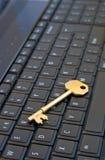 Chave ao Internet. Imagem de Stock Royalty Free