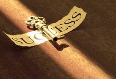 A chave ao sucesso Fotos de Stock