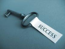 Chave ao sucesso Fotos de Stock