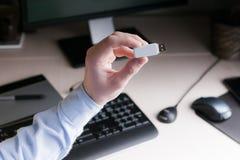 Chave criptograficamente para o pagamento do banco Imagens de Stock