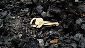A chave da caixa Imagem de Stock Royalty Free