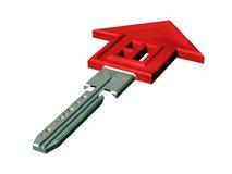 Chave da casa Imagem de Stock Royalty Free