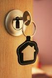 Chave da casa Imagens de Stock