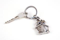 Chave da casa Imagem de Stock