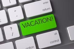 Chave das férias 3d Fotografia de Stock