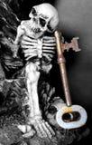 Chave de esqueleto Fotos de Stock Royalty Free