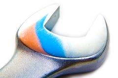 Chave de extremidade aberta fotografia de stock