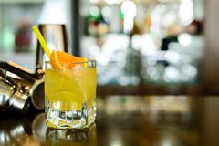 Chave de fenda, cocktail alcoólico forte imagem de stock royalty free