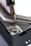 Chave de fenda e parafuso Imagem de Stock Royalty Free