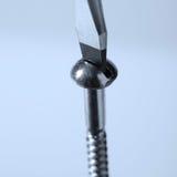 Chave de fenda que gira um parafuso Imagem de Stock