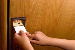 Chave de quarto Imagem de Stock