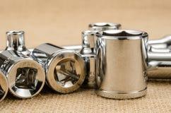 Chave de soquete Imagem de Stock Royalty Free