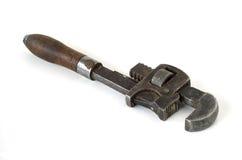 Chave de tubulação Fotografia de Stock Royalty Free