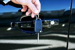 Chave do carro Imagens de Stock Royalty Free