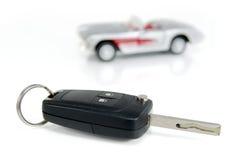 Chave do carro Foto de Stock