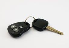Chave do carro com de controle remoto Foto de Stock
