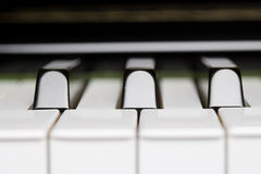 Chave do piano Fotos de Stock