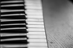 Chave do piano Fotos de Stock