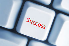 Chave do sucesso Fotografia de Stock Royalty Free