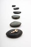 Chave do zen Imagens de Stock Royalty Free