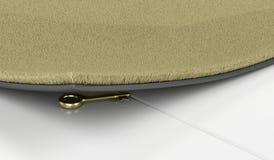 Chave dourada sob o capacho Imagens de Stock