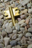Chave escondida Imagem de Stock