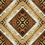 A chave grega geométrica meandra o teste padrão sem emenda Vetor b abstrato Foto de Stock