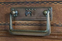 Chave no fechamento de porta Foto de Stock Royalty Free